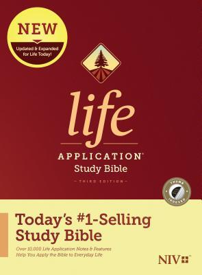 NIV Life Application Study Bible, Third Edition (Hardcover, Indexed)