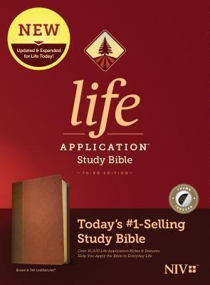 NIV Life Application Study Bible, Third Edition (Leatherlike, Brown/Tan, Indexed)