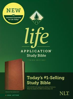 NLT Life Application Study Bible, Third Edition (Red Letter, Leatherlike, Brown/Tan)