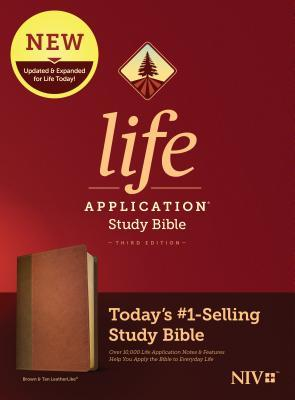 NIV Life Application Study Bible, Third Edition (Leatherlike, Brown/Tan)