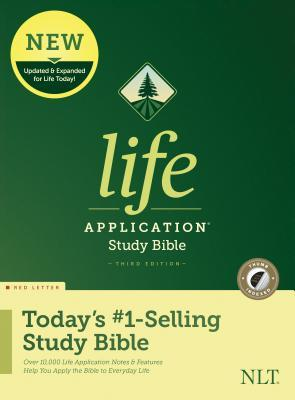 NLT Life Application Study Bible, Third Edition (Red Letter, Hardcover, Indexed)