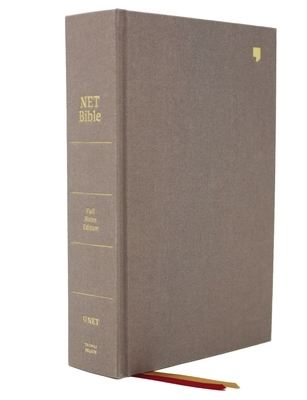 Net Bible, Full-Notes Edition, Cloth Over Board, Gray, Comfort Print