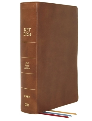 Net Bible, Full-Notes Edition, Genuine Leather, Brown, Indexed, Comfort Print