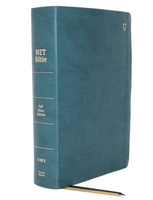 Net Bible, Full-Notes Edition, Leathersoft, Teal, Indexed, Comfort Print