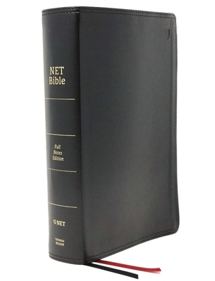 Net Bible, Full-Notes Edition, Leathersoft, Black, Comfort Print