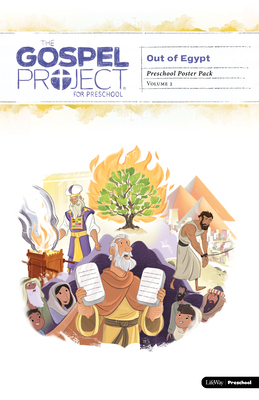 The Gospel Project for Preschool: Preschool Poster Pack - Volume 2: Out of Egypt