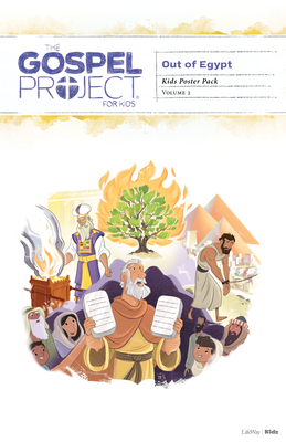 The Gospel Project for Kids: Kids Poster Pack - Volume 2: Out of Egypt