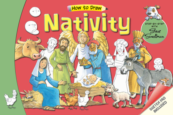 The How to Draw Nativity: Step-By-Step with Steve Smallman