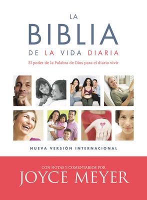La Biblia de la Vida Diaria, Nvi, En Piel Fabricada Negra