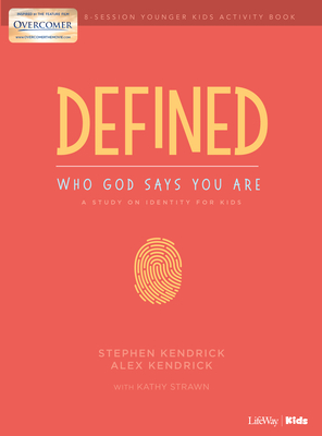 Defined: Who God Says You Are - Younger Kids Activity Book: A Study on Identity for Kids