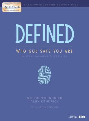 Defined: Who God Says You Are - Older Kids Activity Book: A Study on Identity for Kids