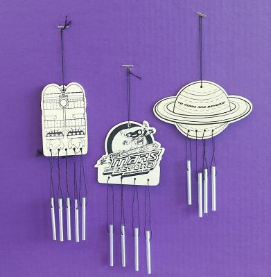 Vacation Bible School (Vbs) 2019 to Mars and Beyond Wind Chimes Craft (Pkg of 12): Explore Where God's Power Can Take You!