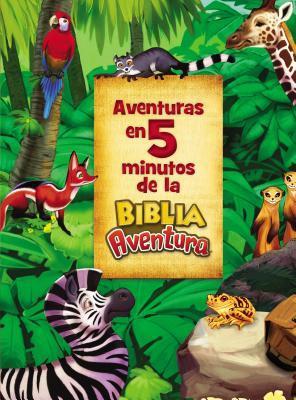 Aventuras En 5 Minutos de la Biblia Aventura (5-Minute Adventure Bible Stories Spanish Edition)