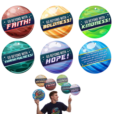 Vacation Bible School (Vbs) 2019 to Mars and Beyond Power Launcher Decorating Mobiles (Pkg of 6): Explore Where God's Power Can Take You!