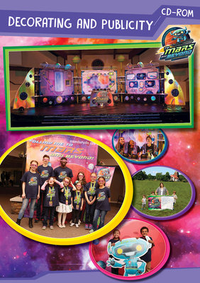 Vacation Bible School (Vbs) 2019 to Mars and Beyond Decorating and Publicity CD-ROM: Explore Where God's Power Can Take You!