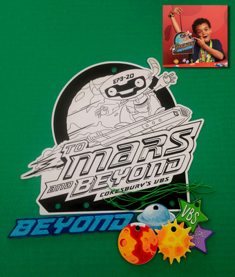 Vacation Bible School (Vbs) 2019 to Mars and Beyond Galaxy Mobile Craft Kit (Pkg of 12): Explore Where God's Power Can Take You!
