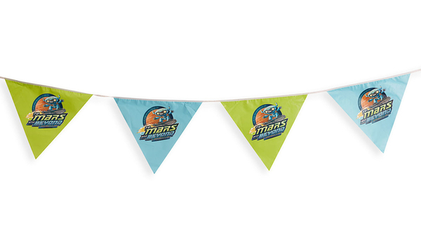 Vacation Bible School (Vbs) 2019 to Mars and Beyond String Pennants: Explore Where God's Power Can Take You!