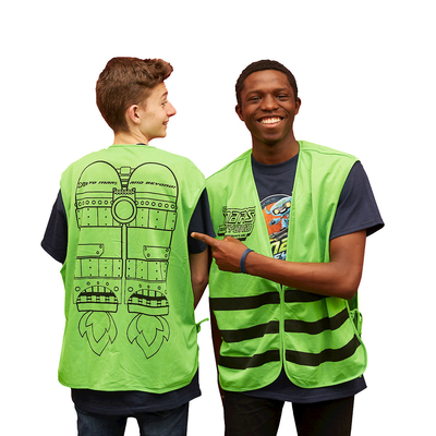 Vacation Bible School (Vbs) 2019 to Mars and Beyond Leader Vest: Explore Where God's Power Can Take You!