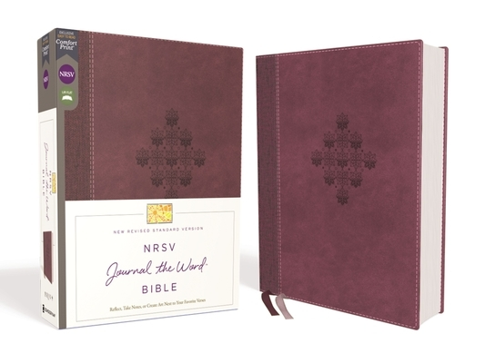 Nrsv, Journal the Word Bible, Leathersoft, Burgundy, Comfort Print