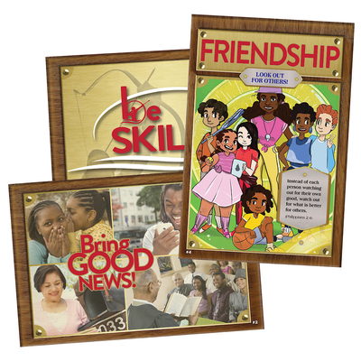 Vacation Bible School (Vbs) 2020 Champions in Life Decorating/Publicity Poster Pak: Ready, Set, Go with God!