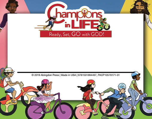 Vacation Bible School (Vbs) 2020 Champions in Life Nametags (Pkg of 24): Ready, Set, Go with God!