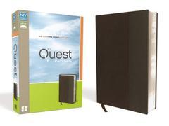 NIV Quest Study Bible Brown/Gray