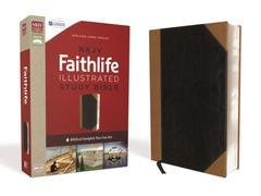 NKJV Faithlife Illustrated Study Bible Indexed Black/Tan