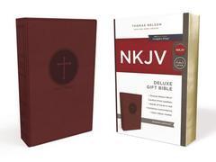 NKJV Deluxe Gift Bible Burgundy