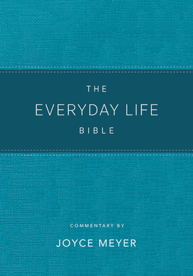 The Everyday Life Bible Teal Leatherluxe(r)