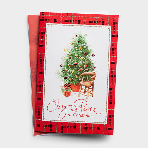 Joy and Peace - 18 Premium Christmas Boxed Cards, KJV