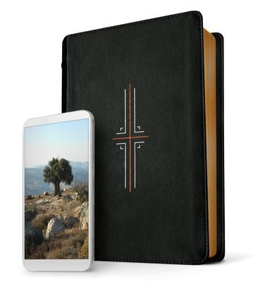Filament Bible NLT (Leatherlike, Black, Indexed)