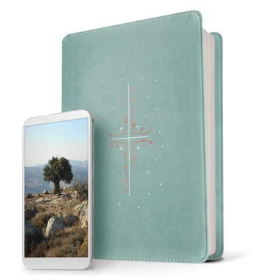 Filament Bible NLT (Leatherlike, Teal): The Print+digital Bible