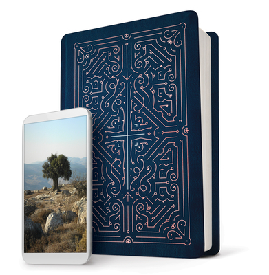 Filament Bible NLT (Leatherlike, Blue)