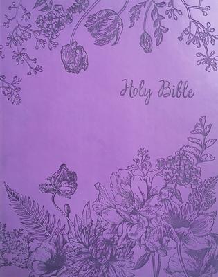 Kjver Sword Study Bible Giant Print Designer Purple Ultrasoft Indexed