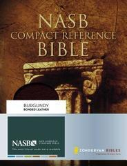 NASB Compact Reference Bible Burgundy