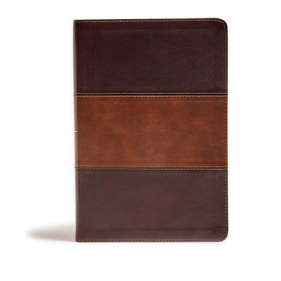 KJV Giant Print Reference Bible, Classic Mahogany Leathertouch
