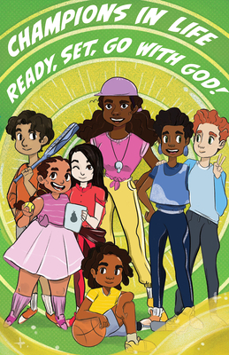 9vbs) 2020 Champions in Life Church Kids C Omic Book Vol. 2 (Pkg of 6): Ready, Set, Go with God!