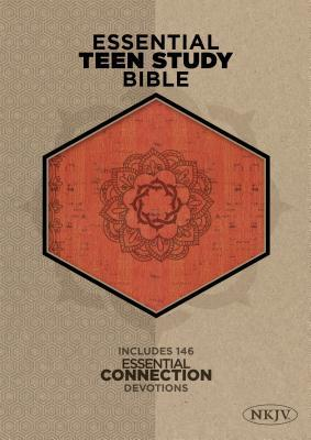 Essential Teen Study Bible-NKJV-Cork
