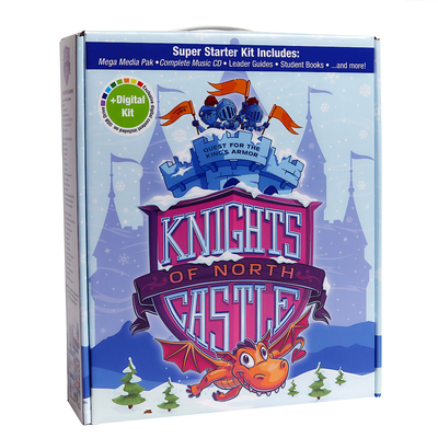 Vacation Bible School (Vbs) 2020 Knights of North Castle Super Starter Kit Plus Digital: Quest for the King's Armor