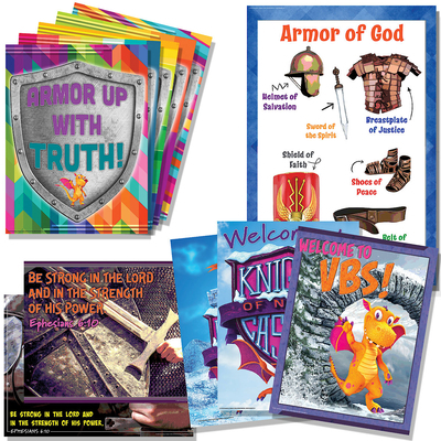 Vacation Bible School (Vbs) 2020 Knights of North Castle Decorating Poster Pak: Quest for the King's Armor