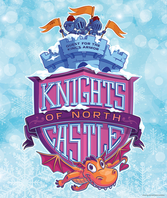 Vacation Bible School (Vbs) 2020 Knights of North Castle Large LOGO Poster: Quest for the King's Armor