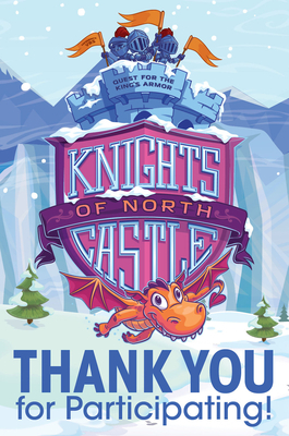 Vacation Bible School (Vbs) 2020 Knights of North Castle Thank You Postcards (Pkg of 24): Quest for the King's Armor