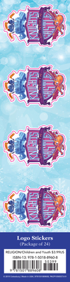 Vacation Bible School (Vbs) 2020 Knights of North Castle LOGO Stickers (Pkg of 24): Quest for the King's Armor