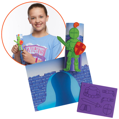 Vacation Bible School (Vbs) 2020 Knights of North Castle Create-Your-Own Knight Kit (Pkg of 12): Quest for the King's Armor