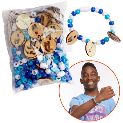 Vacation Bible School (Vbs) 2020 Knights of North Castle Armor of God Bracelet Kit (Pkg of 12): Quest for the King's Armor