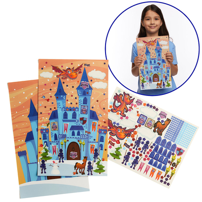 Vacation Bible School (Vbs) 2020 Knights of North Castle Sparky's Castle Sticker Poster (Pkg of 12): Quest for the King's Armor