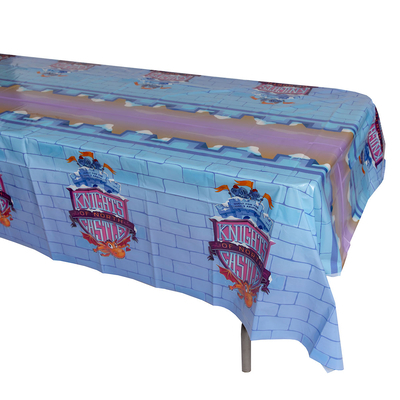 Vacation Bible School (Vbs) 2020 Knights of North Castle Tablecloth: Quest for the King's Armor