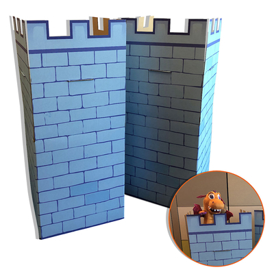 Vacation Bible School (Vbs) 2020 Knights of North Castle - Castle Pillars (Pkg of 2): Quest for the King's Armor