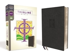 NRSV, Thinline Bible, Leathersoft, Black, Comfort Print