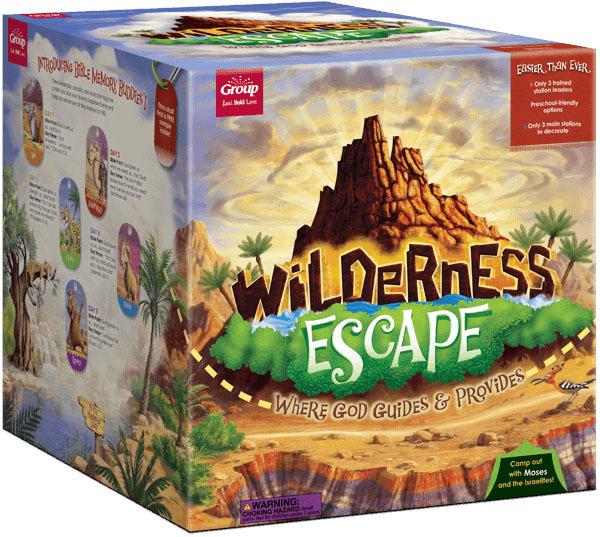 Wilderness escape starter kit